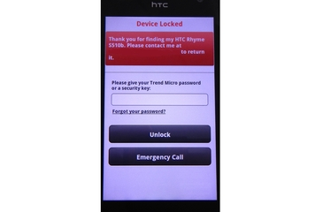 Trend Micro Australia Mobile Security Personal Edition