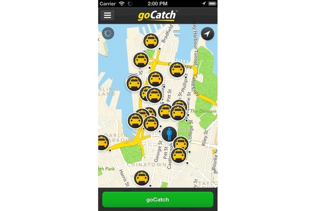 Taxi Apps goCatch for iOS