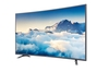 curved 4K 55-inch LED TV