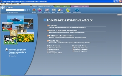Encyclopaedia Brittanica Ultimate Reference Suite 2006