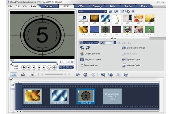 Ulead VideoStudio 10 Plus