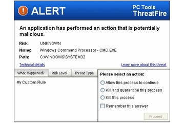 PC Tools ThreatFire 3.5