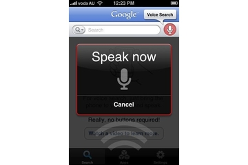 Google Mobile App with Voice Search
