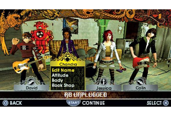 MTV Games Rock Band Unplugged