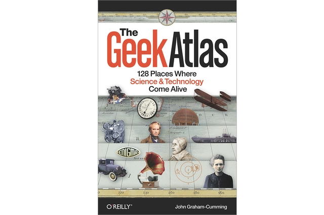 O'Reilly The Geek Atlas book