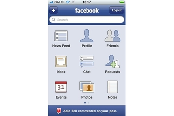 Facebook iPhone 3.0 app