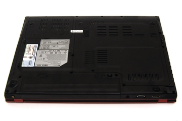 MSI GX620 gaming notebook
