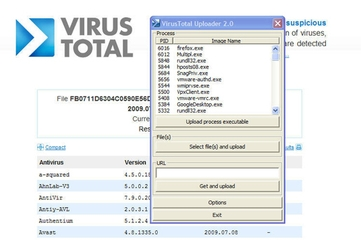 Virus Total Uploader