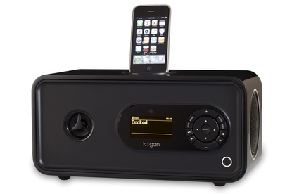 Kogan Technologies Wi-Fi Digital Radio DAB+ With iPhone Docking Station Deluxe
