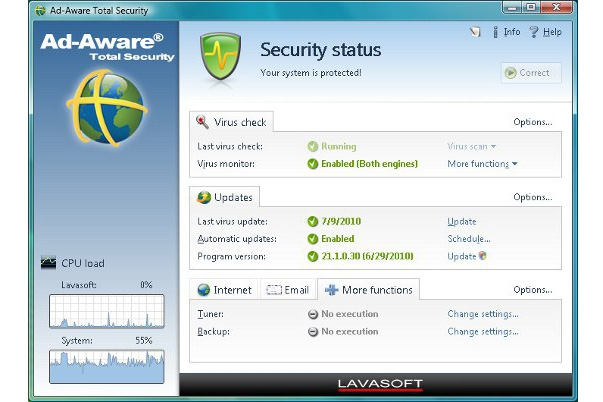 Lavasoft Total Security