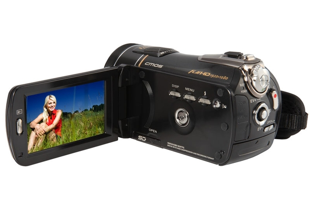Kogan Technologies Full HD 1080p Deluxe Touchscreen Video Camcorder Camera